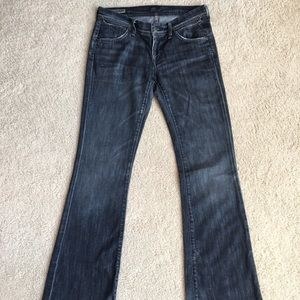 NWOT COH Ingrid Stretch Low Waist Flare Jeans
